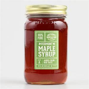 Vermont 100% Pure Maple Syrup Mason Jar | World Market