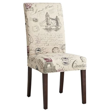 slipcover script dining chair dining room delight