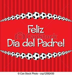 Vectors of Happy Father's Day! - Spanish Soccer theme ...