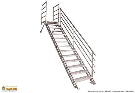 escalier droit en m 233 tal mon am 233 nagement maison