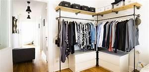 Offener Schrank Vorhang : pin von huey min auf diy wardrobe id ea pinterest kleiderschrank schrank und offener ~ Markanthonyermac.com Haus und Dekorationen