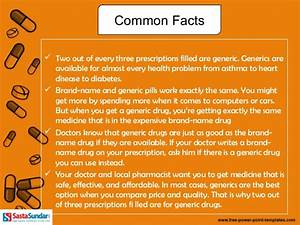 Myths about generic medicines