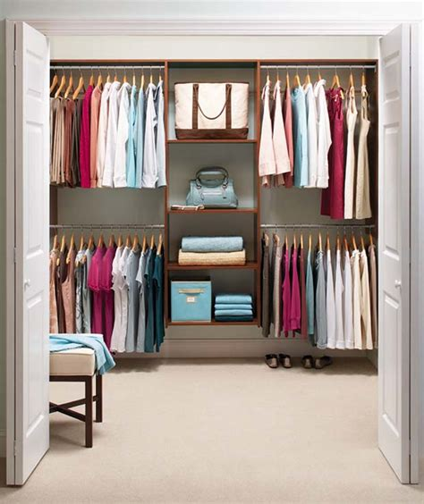 Options And Opportunities For Small Closet Organization