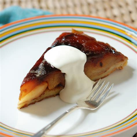 tarte tatin with cr 232 me fra 238 che recipe andrew zimmern food wine