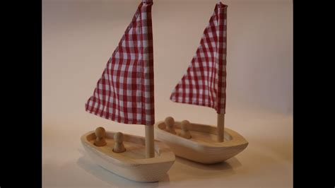 How To Make A Toy Boat Youtube by How To Make A Toy Wooden Sailing Boat V2 Youtube