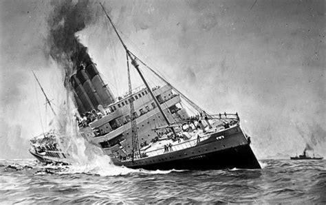 may 7 1915 the lusitania sinks killing 1 000