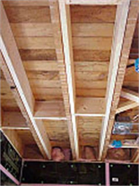 fixing floor bounce or deflection by joist sistering