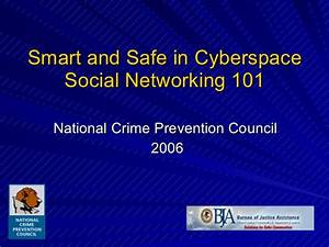 Smart And Safe In Cyberspace: Social Networking 101