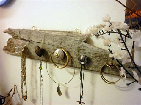 porte bijoux mural en bois flott 233 pat 232 re verre laiton et c 233 ramique bijoux murals and porte