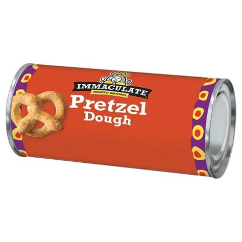 Immaculate Baking Canned Pretzel Dough 13.7oz : Target