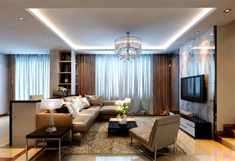 Amazing of Cool Modern Style Living Room Curtains For Mod