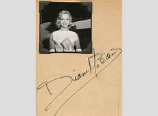 Diane McBain Movies & Autographed Portraits Through The