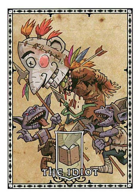 card goblin harrow idiot mask paizo pathfinder