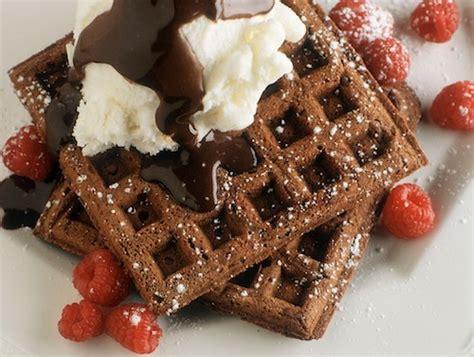 recettes des r 233 gions les gaufres au chocolat le petit monde de manue