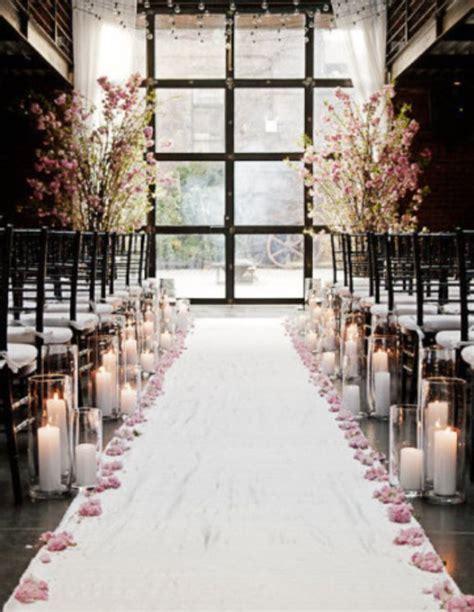 indoor wedding ceremony candle decorationwedwebtalks wedwebtalks