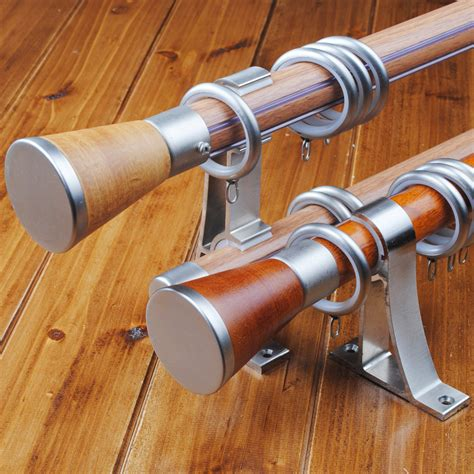 Wooden Curtain Rods And How To Buy The Right Ones Traba