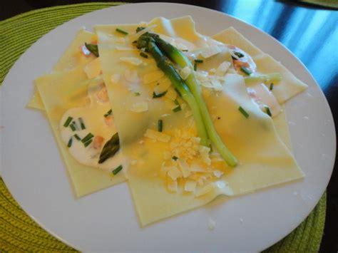 lasagnes 3 feuilles au saumon et aux asperges la cuisine de nelly