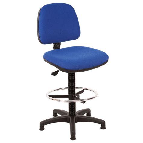 ergonomic draughtsman chair blue staples 174