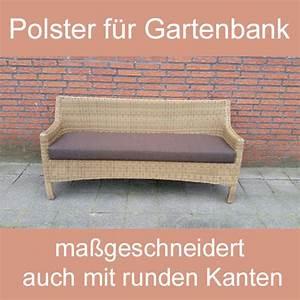 Sitzbank Nach Maß : gartenbank sitzbank bankauflage sitzpolster nach ma ~ Markanthonyermac.com Haus und Dekorationen