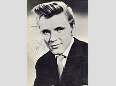 Billy Fury Movies & Autographed Portraits Through The