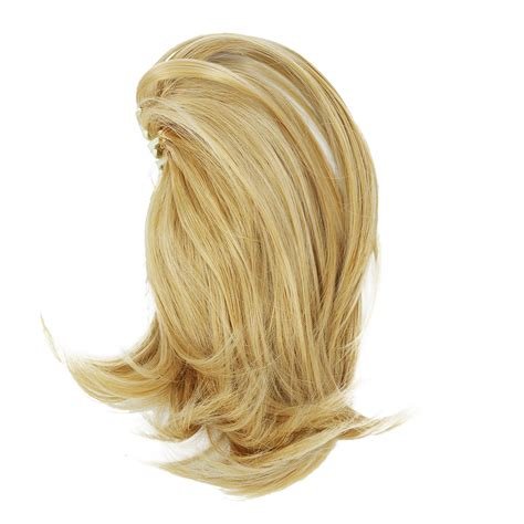 K9 Short Ponytail Hair Extensions Synthetic Hair Wavy Claw