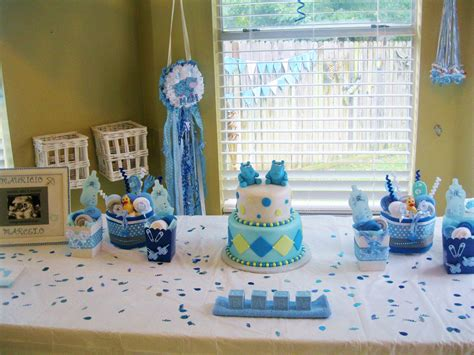 how to set baby shower themes boys boy baby showers and planners