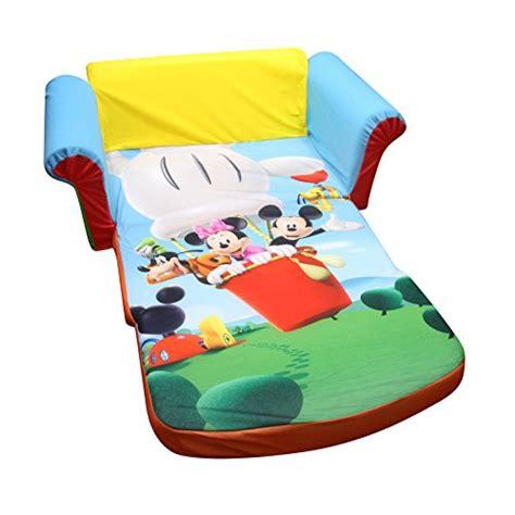 marshmallow furniture flip open sofa mickey mouse club house disney new ebay