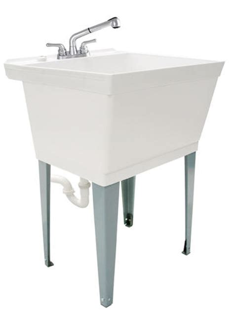 tuscany laundry tub kit with pullout at menards 174