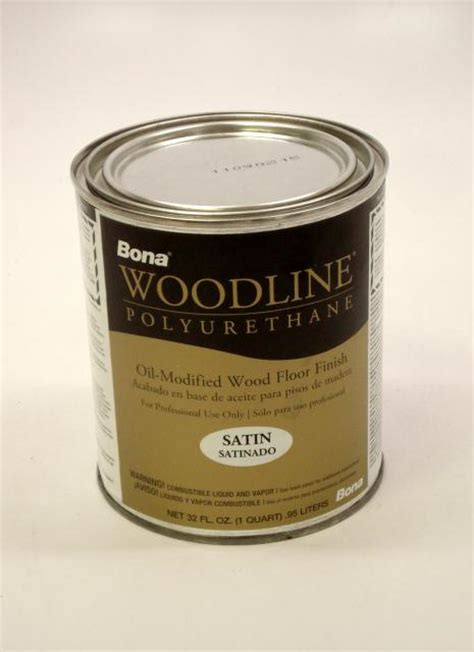bona woodline polyurethane satin based hardwood floor finish quart chicago hardwood flooring
