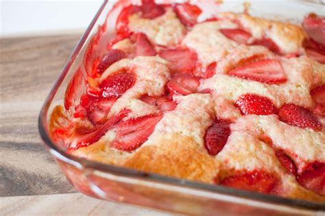 strawberry buttermilk pudding cake with mascarpone fresh foodie