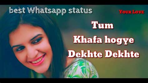 Sochta Hoon Ki Wo Kitne Masoom Thay Whatsapp Status || Tum