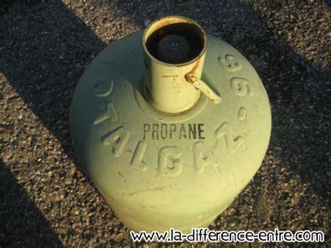 quelle est la difference entre butane et propane
