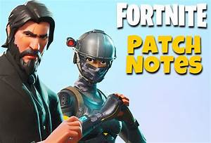 Fortnite UPDATE: Season 3 Patch Notes REVEALED for PS4 ...