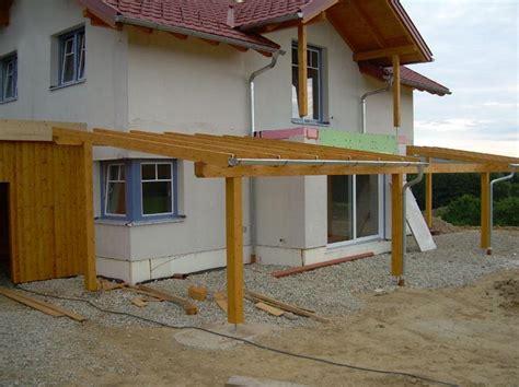 Aussenbau  Carport Und Terrassenüberbau