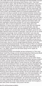 Sei Wie Momente : dirk darmstaedter dirk sings dylan ~ Markanthonyermac.com Haus und Dekorationen