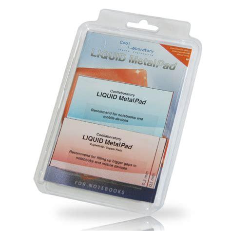 coollaboratory liquid metalpad notebook p 226 te thermique pc coollaboratory sur ldlc