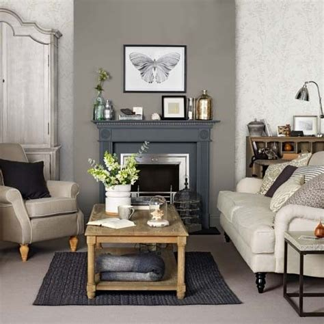 grey and taupe living room living spaces