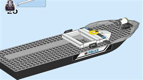 Lego City Police Boat Instructions by Lego 60143 2017 Lego City Police Patrol Boat Instructions