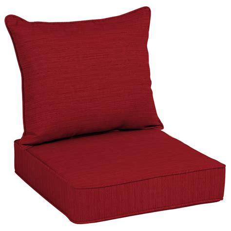 shop allen roth texture seat patio chair cushion