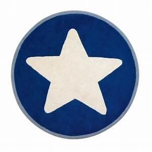 Teppich Stern Blau : teppich star blau gro er stern 120 cm von kids concept kaufen ~ Markanthonyermac.com Haus und Dekorationen