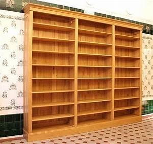 Bücherregale Mit Türen : regalwand mit t ren und leiter erle massiv 270x400x45cm ebay ~ Markanthonyermac.com Haus und Dekorationen