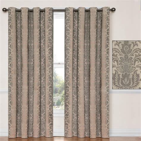 snowders 187 doors with curtains taupe curtain
