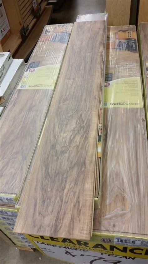 traffic master lakeshore pecan laminate flooring going