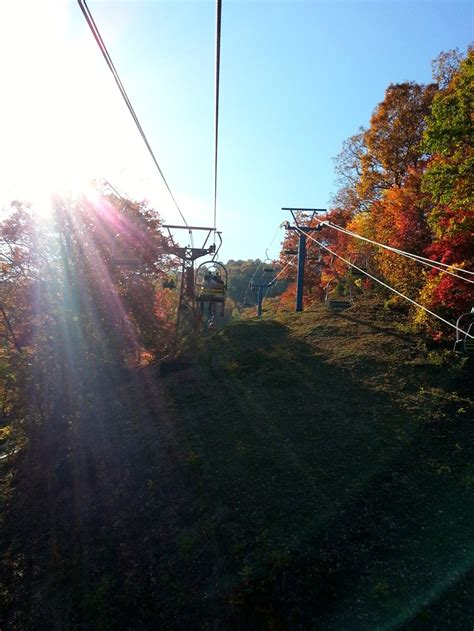 ride the scenic chairlift at ober gatlinburg things to do