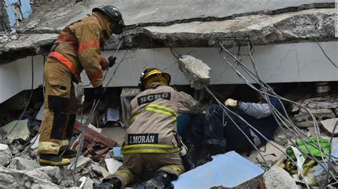 Earthquake Fire Boat by Ecuador Earthquake Rescuers Race To Find Survivors Cnn
