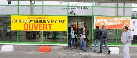 le conseil d 201 tat valide l ouverture des magasins de bricolage le dimanche le point