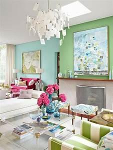 Design Ideen Wohnzimmer : interior design ideen 50 luftige feminine wohnzimmer designs ~ Markanthonyermac.com Haus und Dekorationen