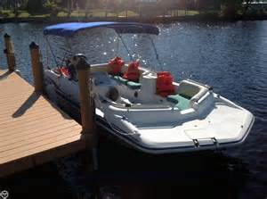 2001 used hurricane deck gs 201 deck boat for sale 17 500 cape coral fl moreboats