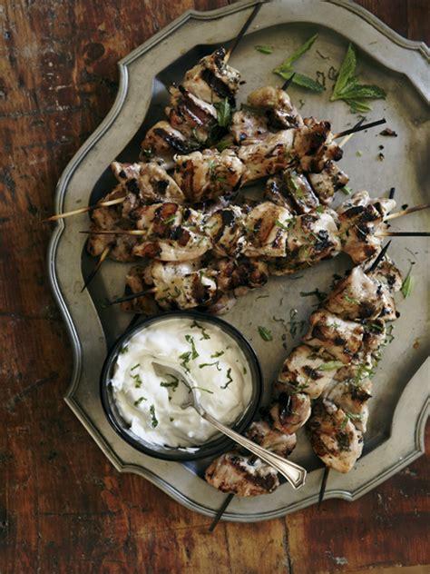 Recette  Kebabs De Poulet Au Babeurre Et à L'ail  Maison Et Demeure