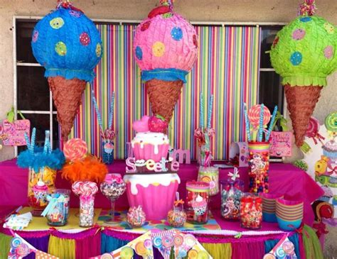 """Candy  Birthday """"candy Land""""  Catch My Party"""